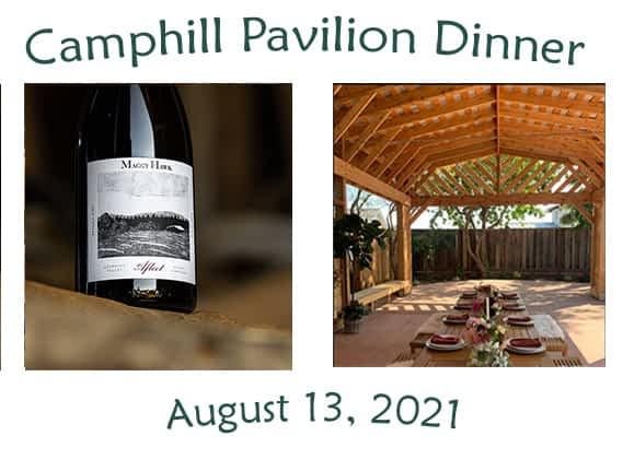 Camphill California pavilion dinner fundraiser