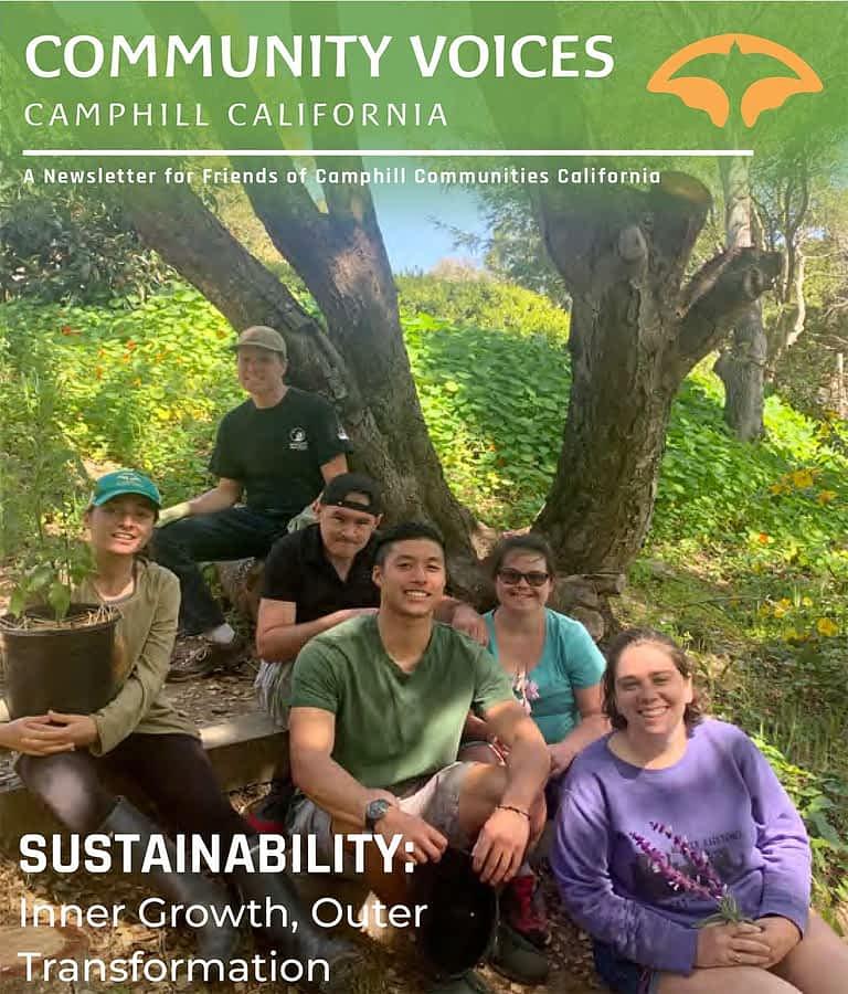 Camphill California newsletter cover